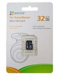 Карта памяти EZviz microSDHC 32GB Class10 For Surveillance